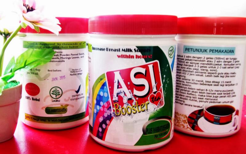 nutrisi untuk memperlancar asi booster tea